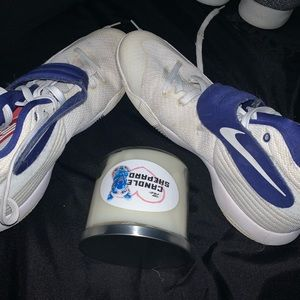 Kyrie Nike shoes with free candle